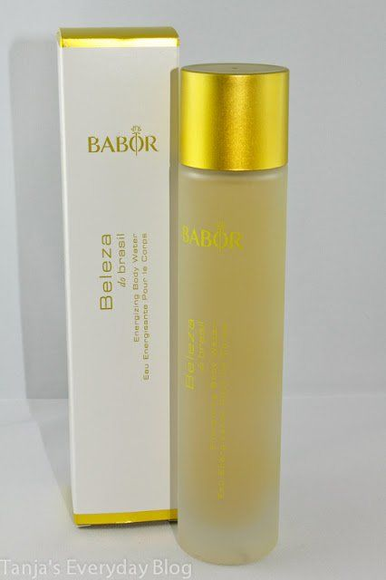 BABOR - Beleza do Brazil Body Water - Tanja's Everyday Blog