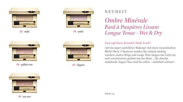 PREVIEW Clarins Ombre Minérale Autumn Collection 2012 - Tanja's Everyday Blog