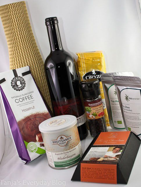 Januar-Gourmetbox - verdient ihren Namen - Tanja's Everyday Blog