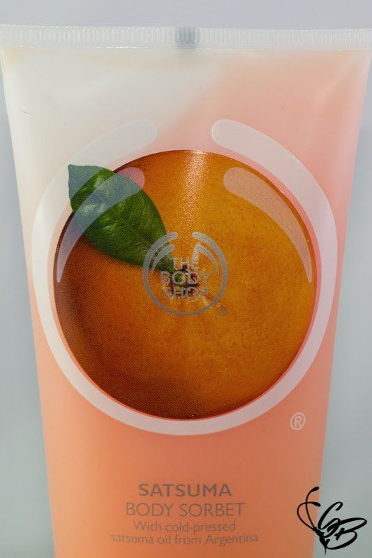 Review - The Body Shop Body Sorbet - Tanja's Everyday Blog