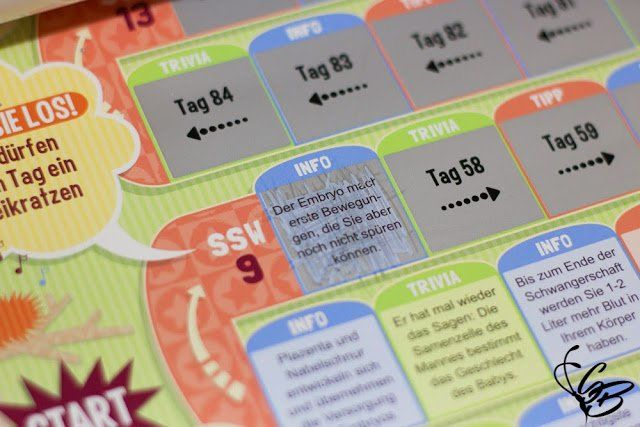 Review - Babysteps Rubbelkalender - Tanja's Everyday Blog