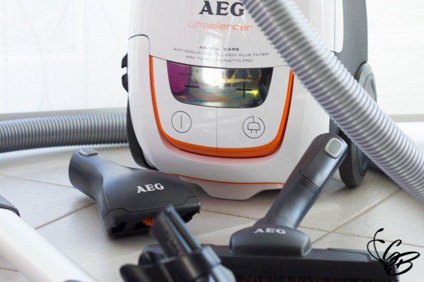 AEG UltraSilencer AUS8230 macht nicht nur beim Saugen eine gute Figur - Tanja's Everyday Blog