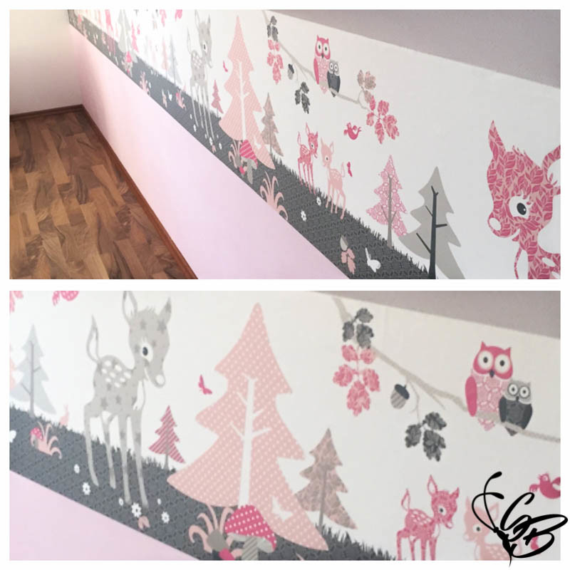 Kinderzimmer gestalten mit Anna Wand® Design - Tanja's Everyday Blog