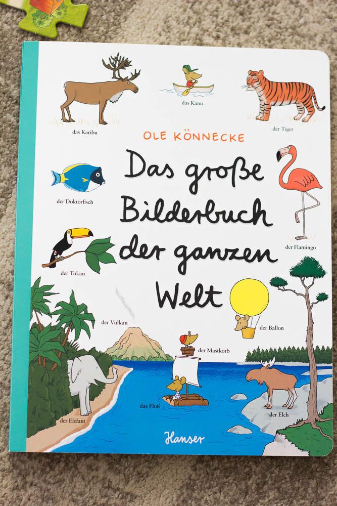 Leseecke: Das große Bilderbuch der ganzen Welt vom Hanser Verlag - Tanja's Everyday Blog