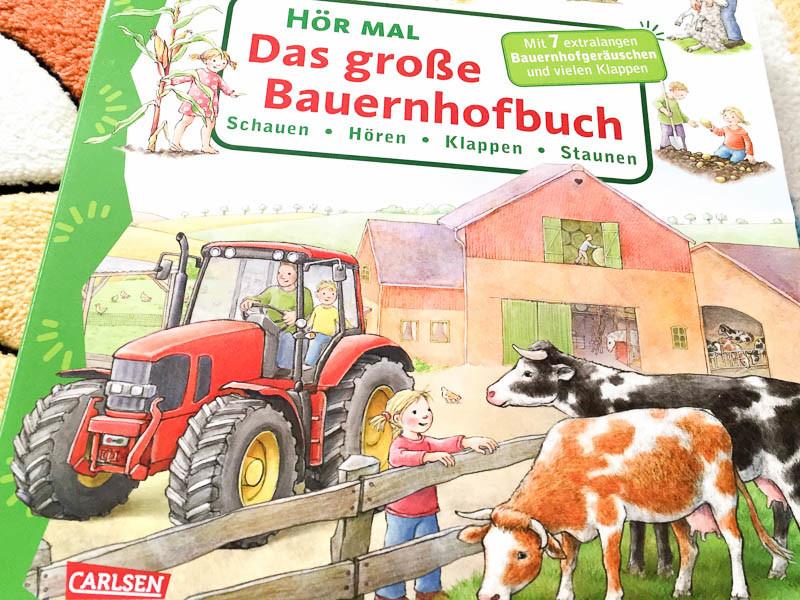 Leseecke: Das große Bauernhofbuch vom Carlsen Verlag - Tanja's Everyday Blog