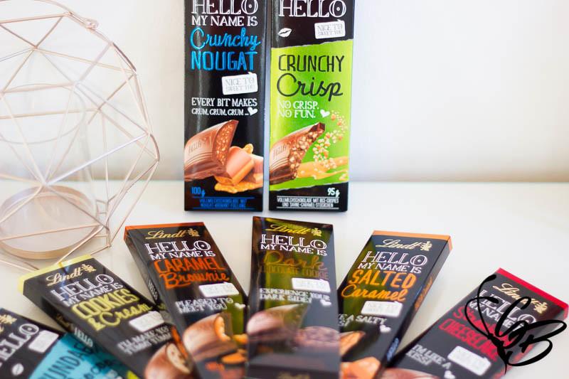 Lindt sagt wieder HELLO mit Crunchy Crisp - Tanja's Everyday Blog