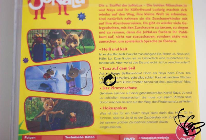 Mehr Spaß an Bewegung mit JoNaLu's 2. Stafel DVD 8+ Gewinnspiel - Tanja's Everyday Blog
