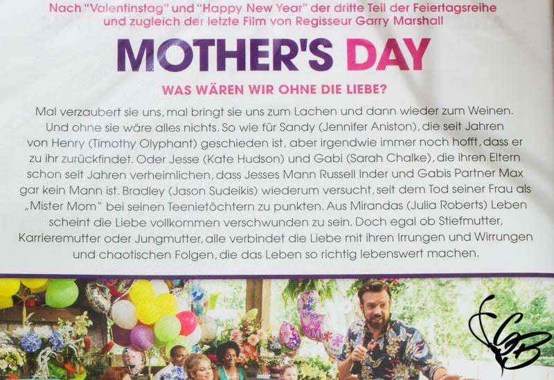 """Vorstellung DVD: """"MOTHER'S DAY"""" Liebe ist kein Kinderspiel + Gewinnspiel - Tanja's Everyday Blog"""