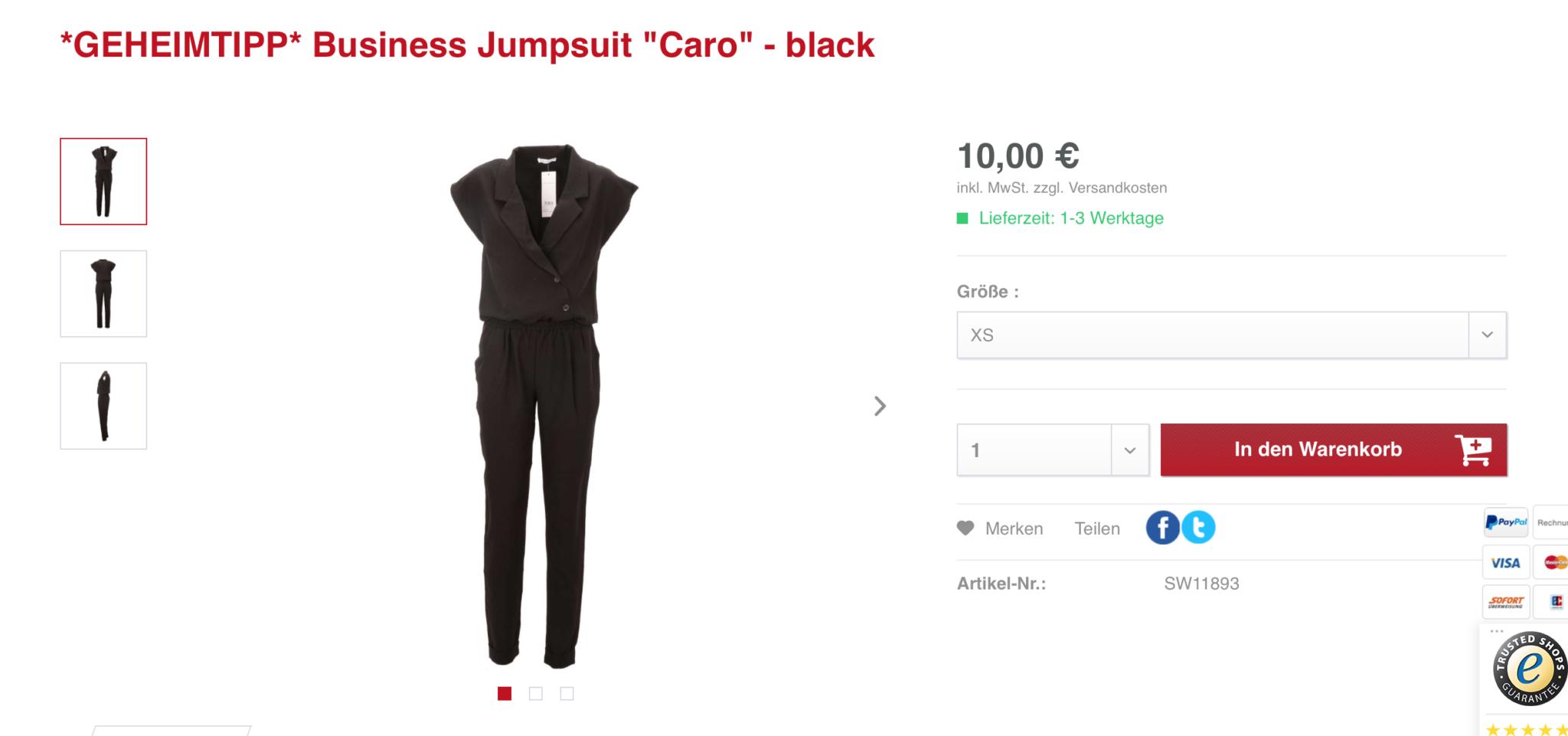 Hochwertige Kleidung bei alles10euro.de - Tanja's Everyday Blog