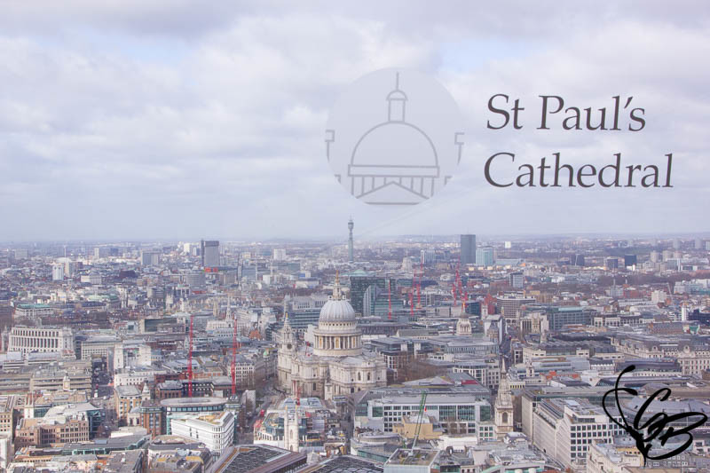 SKY Garden London, Tanja's Everyday Blog, St Paul's Cathedral