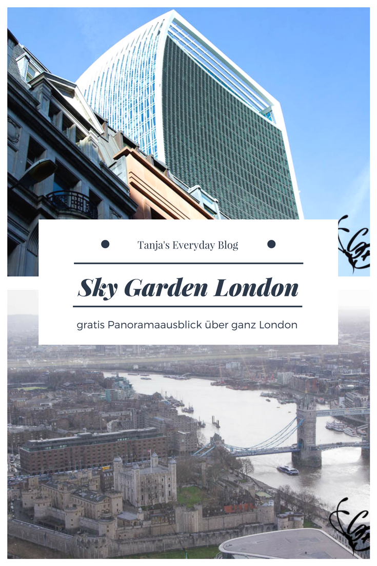 Sky Garden London Tanja's Everyday Blog