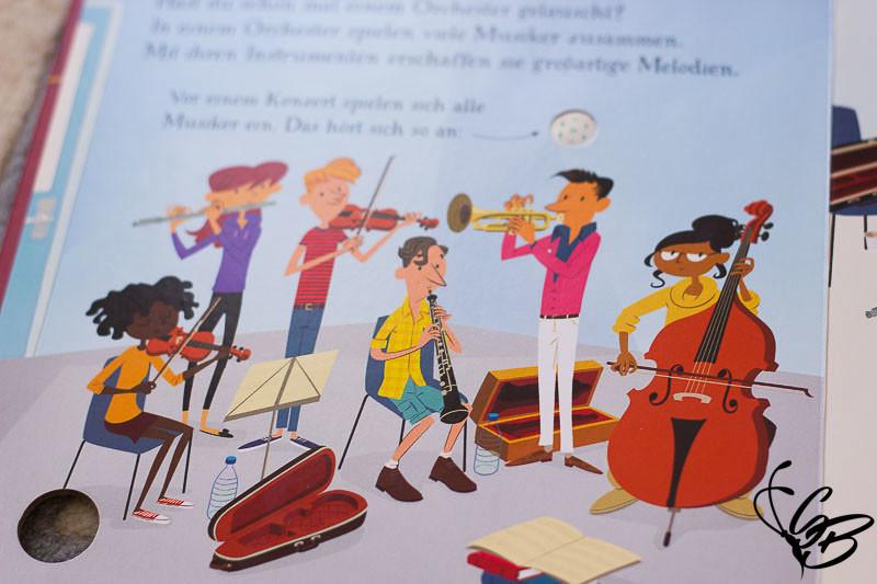 """Leseecke: """"So klingt ein Orchester"""" vom Usborne Verlag - Tanja's Everyday Blog"""