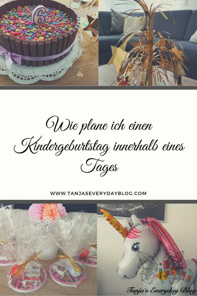 Wie ich einen Kindergeburtstag innerhalb eines Tages plante - Tanja's Everyday Blog