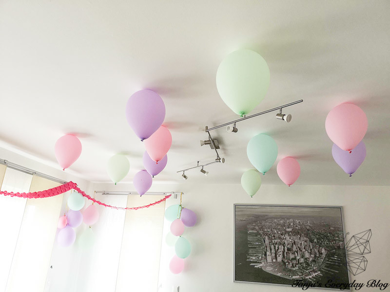 Kindergeburtstag Dekoration Luftballons