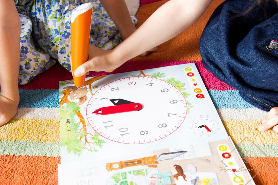 Tiptoi Buch Uhr und Zeit Rezension