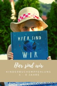 HIER SIND WIR - Anleitung zum Leben auf der Erde von NordSüd Verlag - Tanja's Everyday Blog